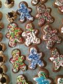 Gingerbread peeps after