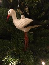Stork ornament 2015