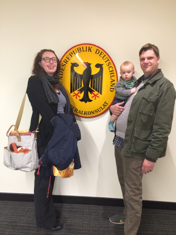 Familie Brose at the Consulate