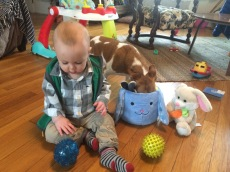 Otto's first easter 3