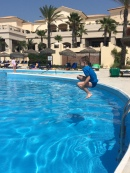 Diving constest