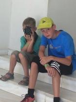 Sebastian, the family photographer