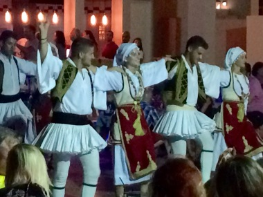 Greek dancing evening