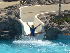 Water slides!