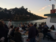 Sunset cruise potluck