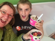 Fro-Yo with Aidan